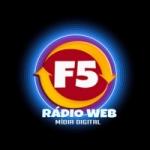 Logo da emissora Rádio Web F5