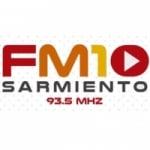 Logo da emissora Radio FM 10 93.5