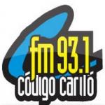 Logo da emissora Radio Código Cariló 93.1 FM