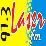 Logo da emissora Radio Láser 91.3 FM