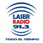Logo da emissora Radio Laser 91.3 FM