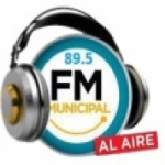 Logo da emissora Radio Municipal 89.5 FM