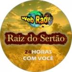 Logo da emissora Rádio Raiz do Sertão