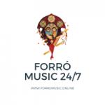 Logo da emissora Forró Music 24/7