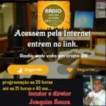 Logo da emissora Rádio Web Vida em Cristo