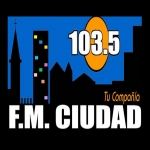 Logo da emissora Radio Ciudad 103.5 FM