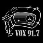 Logo da emissora Radio Vox 91.7 FM
