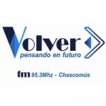 Logo da emissora Radio Volver 95.3 FM