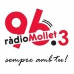 Logo da emissora Radio Mollet 96.3 FM