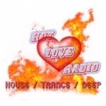 Logo da emissora Hot Love Radio
