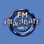Logo da emissora Radio Imagínate 105.7 FM