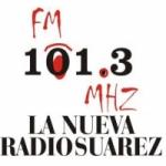 Logo da emissora Radio Nueva Suarez 101.3 FM