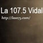 Logo da emissora Radio La 107.5 FM