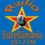 Logo da emissora Radio Estrellamania 107.2 FM