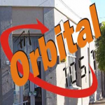 Logo da emissora Radio Orbital 105.1 FM