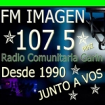 Logo da emissora Radio Imagen 107.5 FM