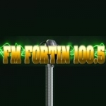 Logo da emissora Radio Fortin 100.5 FM