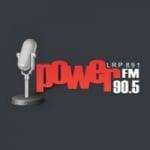 Logo da emissora Radio Power 90.5 FM