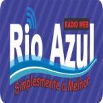 Logo da emissora Rádio Web Rio Azul