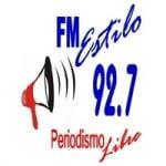 Logo da emissora Radio Estilo 92.7 FM
