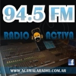 Logo da emissora Radio Activa 103.5 FM