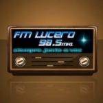 Logo da emissora Radio Lucero 98.5 FM