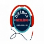 Logo da emissora Dinâmica Web Rádio