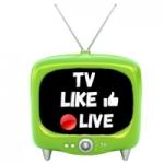 Logo da emissora Rádio Like Live