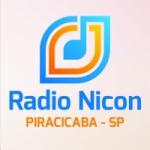 Logo da emissora Rádio Nicom