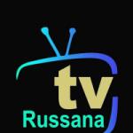 Logo da emissora Rádio Tv Russana