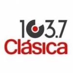 Logo da emissora Radio Clásica 103.7 FM