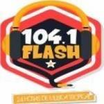 Logo da emissora Radio 104.1 Flash FM