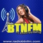 Logo da emissora Rádio BTN FM