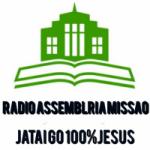 Logo da emissora Rádio Assembléia Missão FM