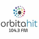 Logo da emissora Radio Orbita Hit 104.3 FM