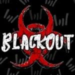Logo da emissora Rádio Blackout Rock