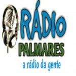 Logo da emissora Rádio Palmares