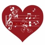 Logo da emissora Amor web rádio