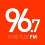 Logo da emissora Radio Plus 96.7 FM