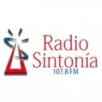 Logo da emissora Radio Sintonia 107.8 FM