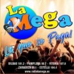 Logo da emissora Radio La Mega 90.7 FM
