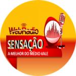 Logo da emissora Web Rádio Sensação
