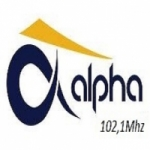 Logo da emissora Rádio FM Alpha
