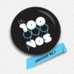 Logo da emissora Radio La 100 90.7 FM