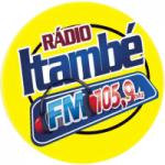 Logo da emissora Rádio Itambé 105.9 FM