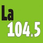 Logo da emissora Radio La 104.5 FM