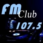 Logo da emissora Radio Club 107.5 FM