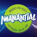 Logo da emissora Radio Manantial 100.1 FM