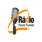 Logo da emissora Rádio Passo Fundo 104.9 FM