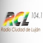 Logo da emissora Radio Ciudad de Luján 104.1 FM